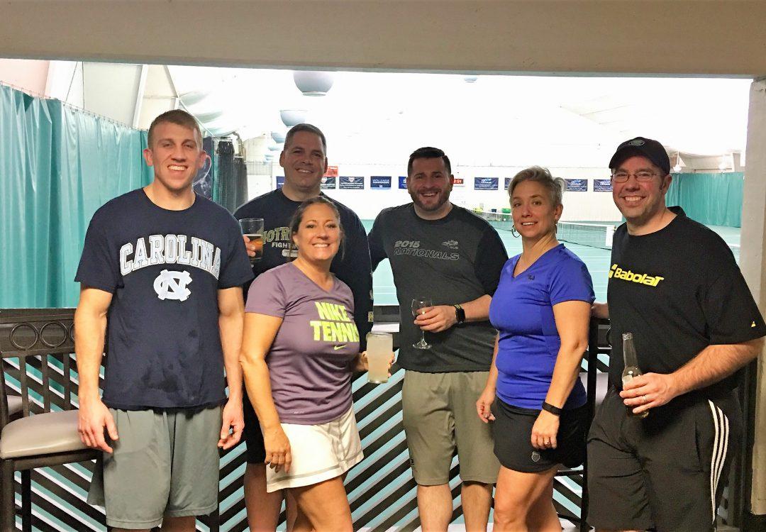 tennis staff, WRRFC, Schultzie's Lounge