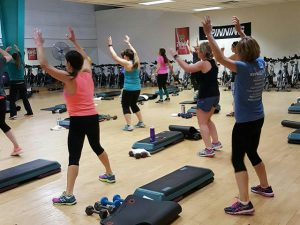 WRRFC Group Fitness Class, Step