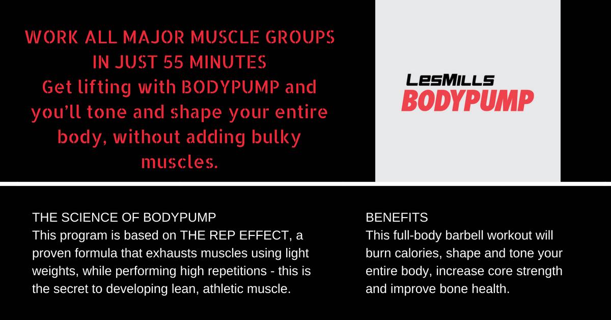 Les Mills Body Pump Western Reserve Racquet & Fitness