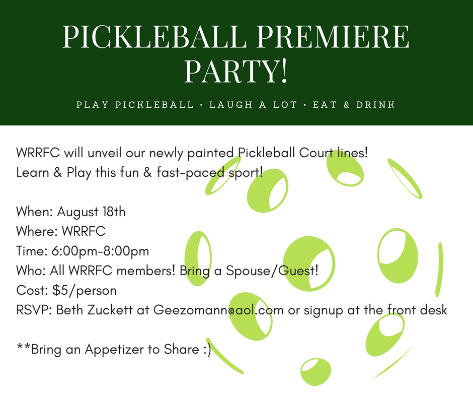 Pickleball Premiere Party
