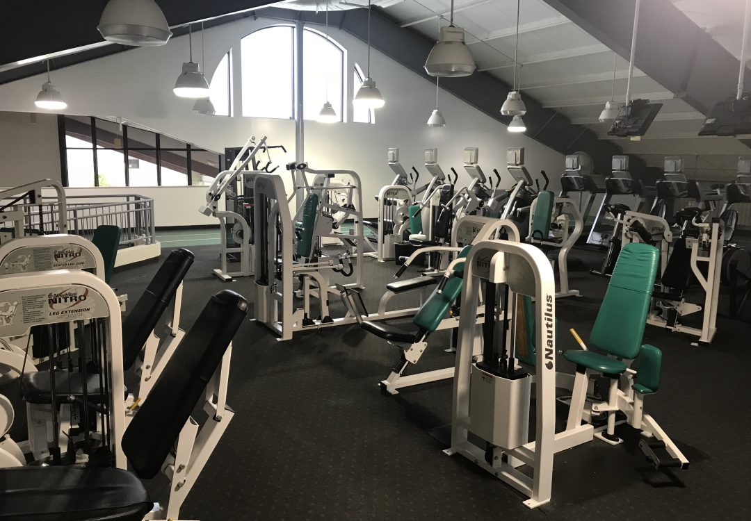 Western Reserve Racquet & Fitness Club Nautilus Equipment