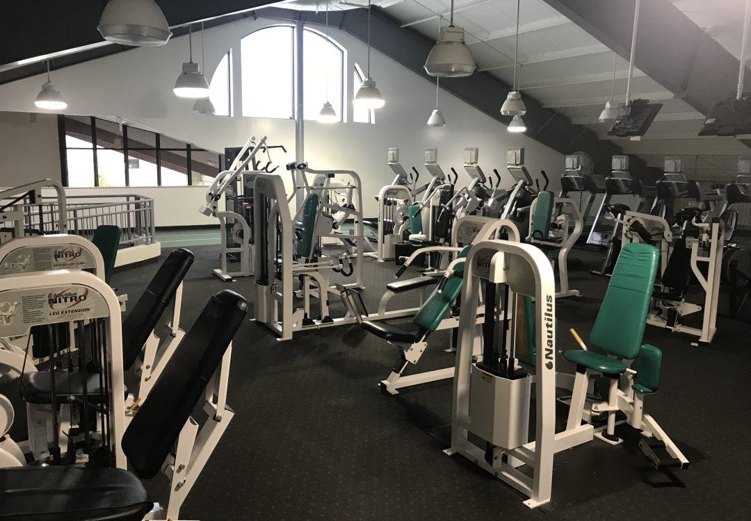 Western Reserve Racquet & Fitness Club Nautilus Equipment