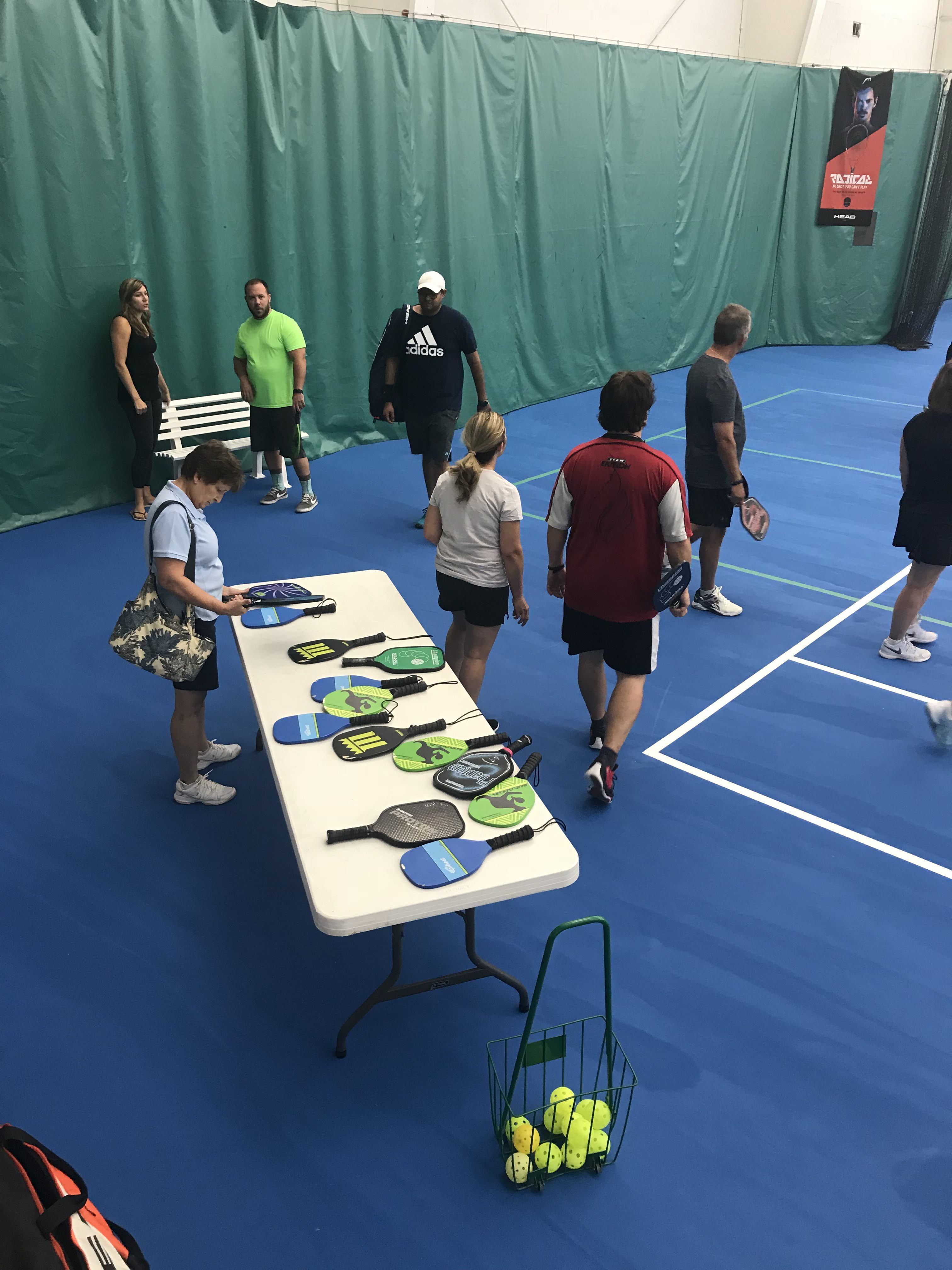 Pickleball Western Reserve Racquet and Fitness